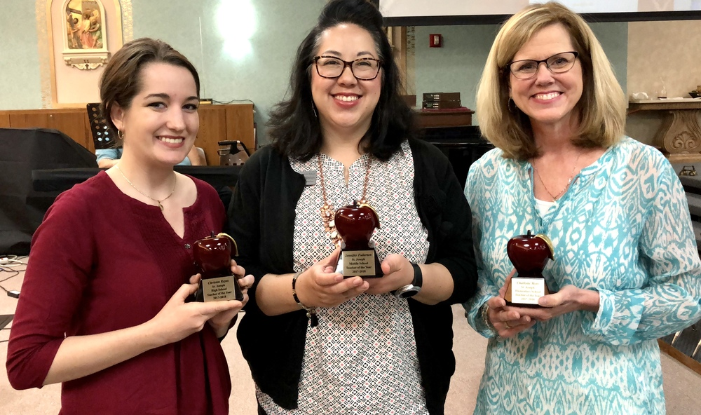 Golden Apple Recipients