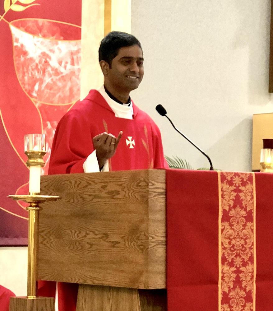 Father Chandra's Homily