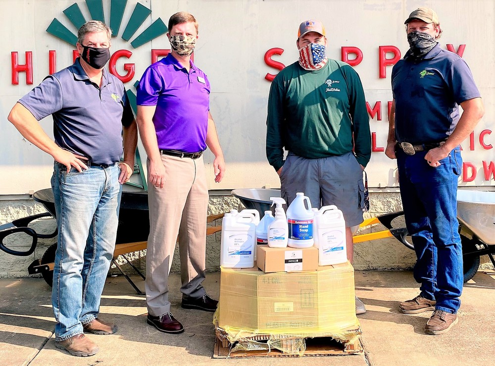Hiegel Supply Donates Safety Kits