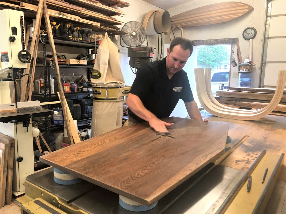 Craftsman Creates Coffin