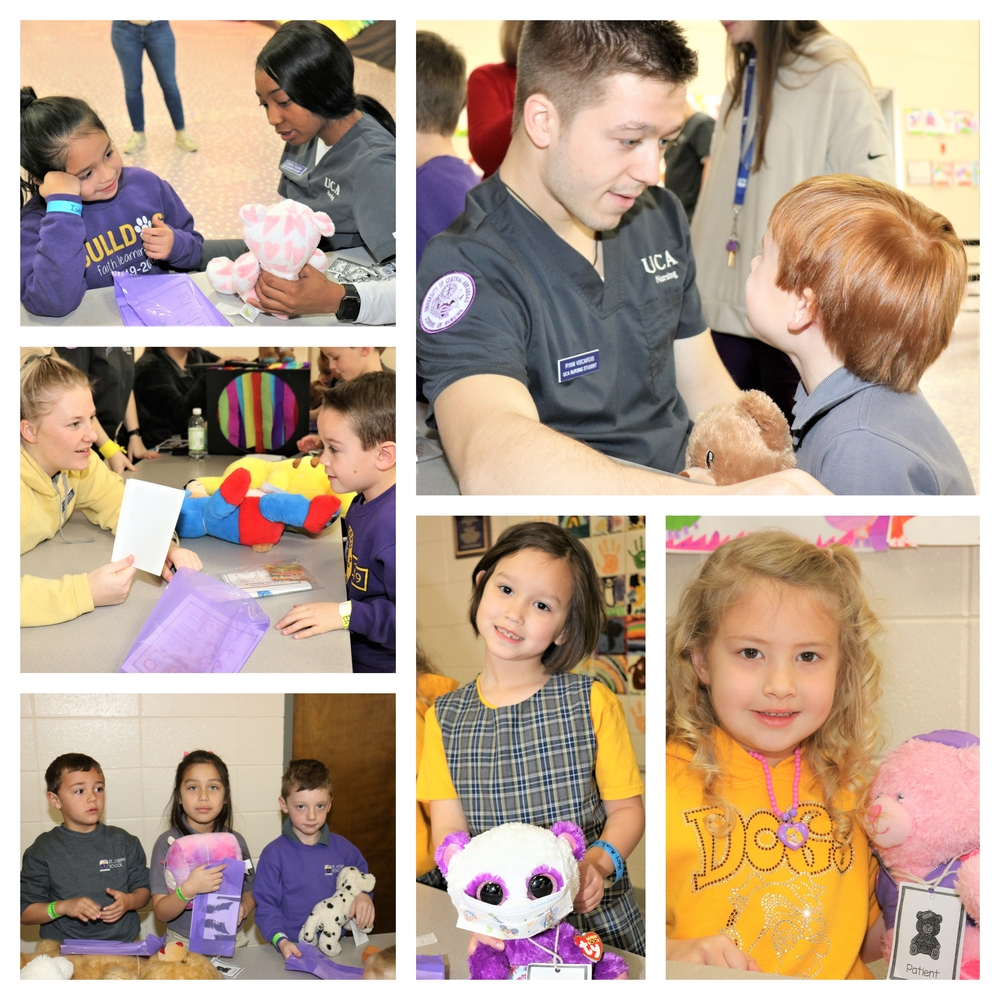 Teddy Bear Clinic Held