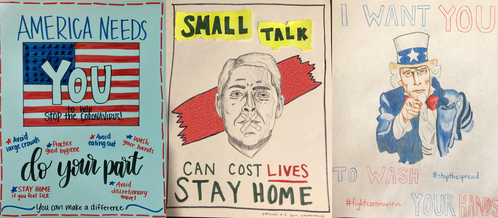 Public Awareness Posters Created