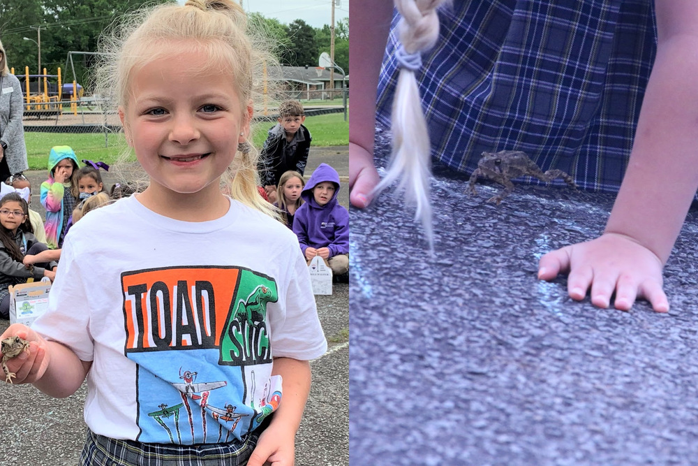First Grader Wins Toad Race