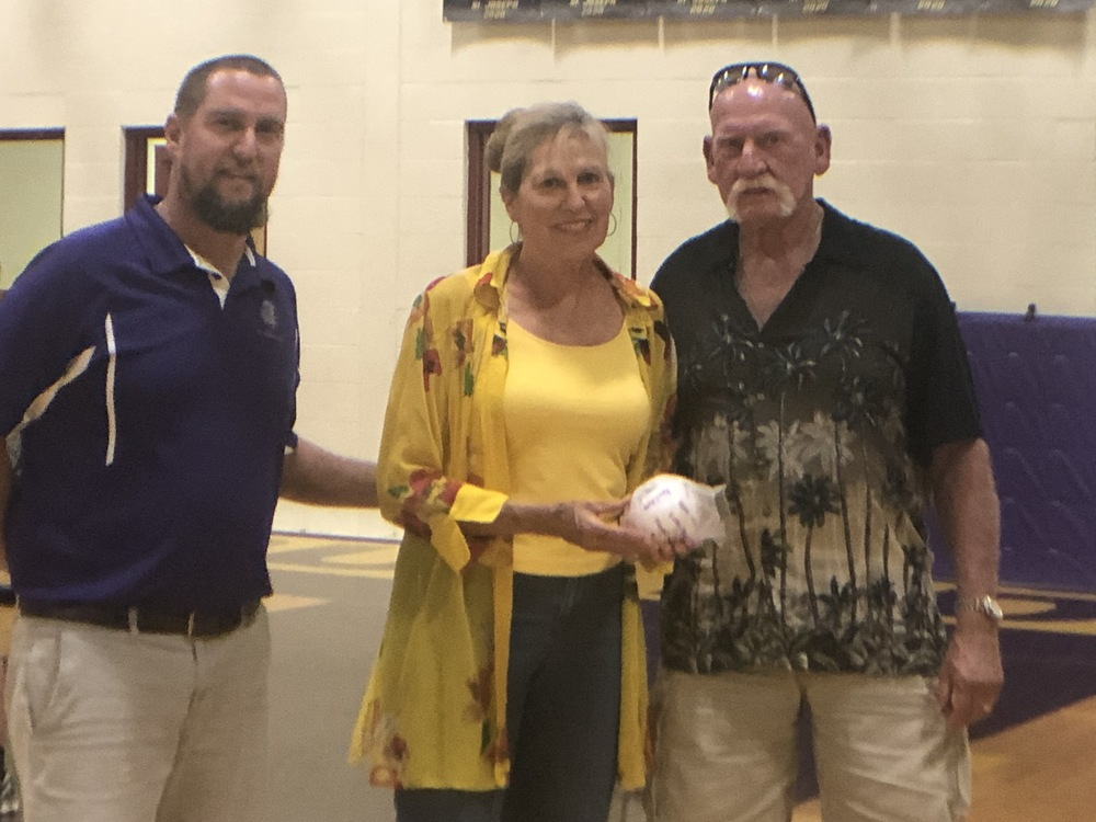 Volleyball Game Sponsors Recognized