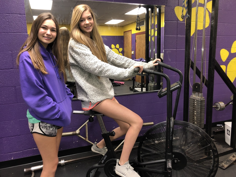 Interact Club Improves Gym