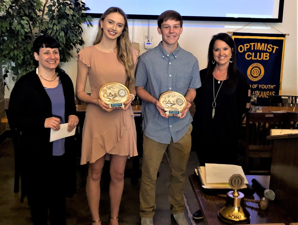 Optimist Teens of the Month