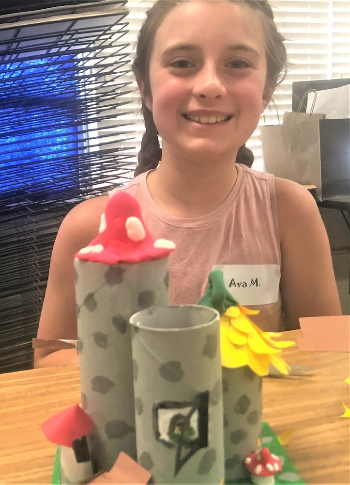 Art Camp Encourages Creativity
