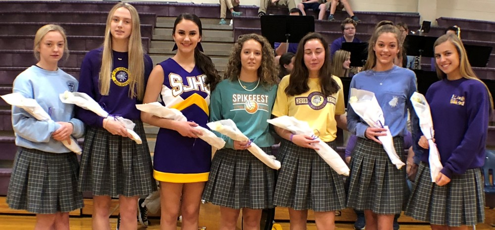 Homecoming Court Presented