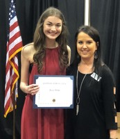 Lions Club Scholarship Awarded